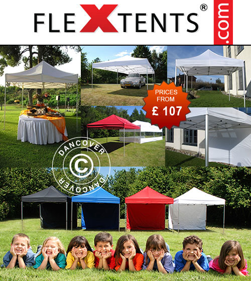 Market tents in high quality